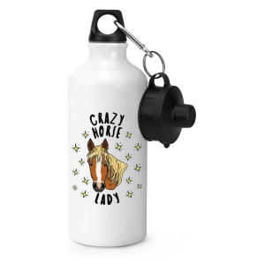 Crazy Horse Lady Water Bottle