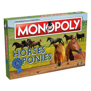 Horses and Ponies Monopoly Game