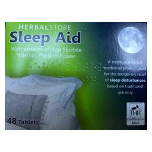 Sleep Insomnia Remedy 48 Tablets