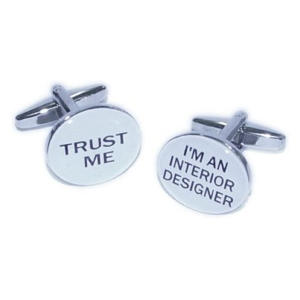 Interior Designer Cufflinks