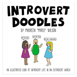 Introvert Doodles Illustration Book
