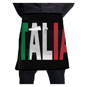 Italia Flag Short Apron