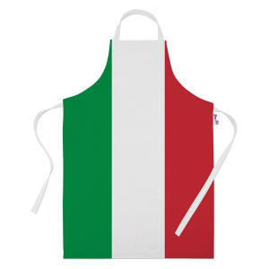 Italia Flag Short Apron