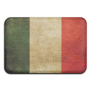 Vintage Italian Flag Doormat