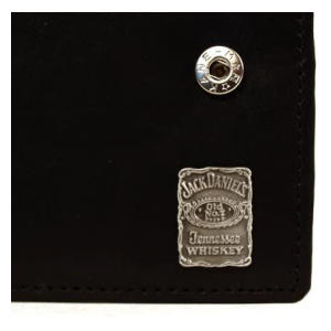 Jack Daniels Leather Square Wallet