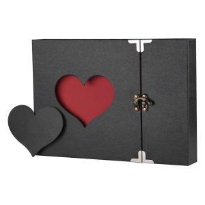 Love Heart Black Pages Album