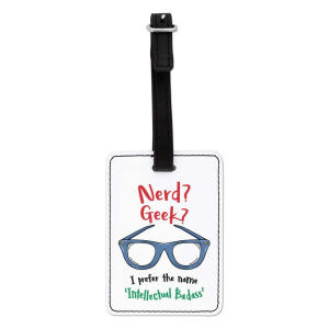 Intellectual Badass Luggage Tag