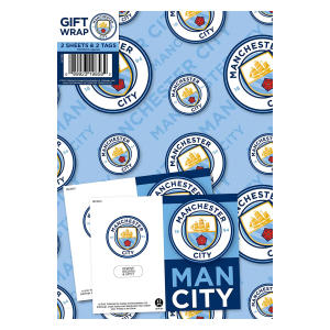 Manchester City Gift Wrapping Paper