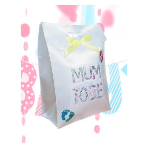 Mum To Be Diamante Gift Bag