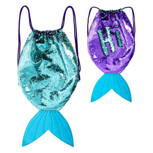 Magical Mermaid Tail Sequin Backpack