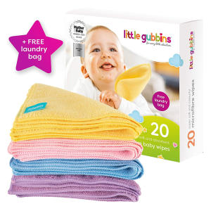 20 Reusable Baby Wipes