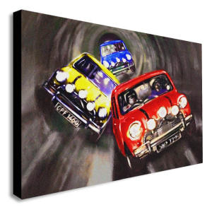 The Italian Job Mini Cooper Print