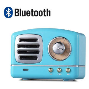 Portable Retro Bluetooth Mini Speaker