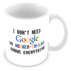 Funny Mother in Law Google Mug