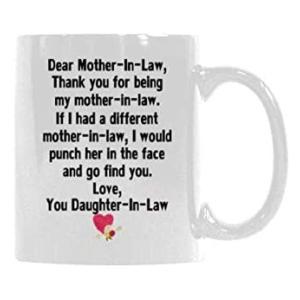 Mother in Law Sentimental Mug