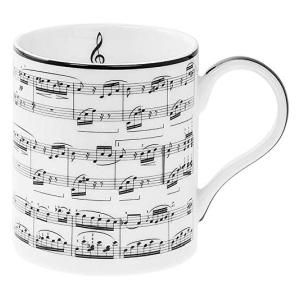 Music Notes China Mug