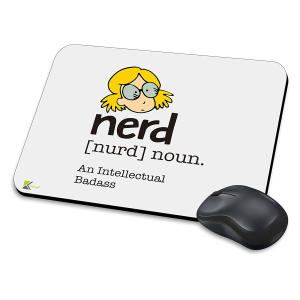 An Intellectual Badass Mouse Mat