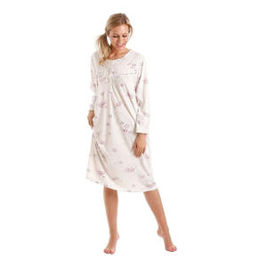 Floral Jersey Cotton Nightdress