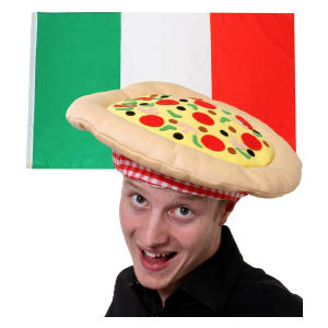 Novelty Italian Pizza Hat