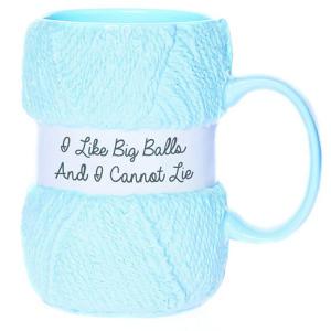 Realistic Yarn Knitting Mug