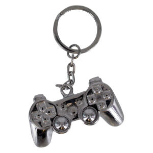 Playstation 3D Metal Keyring