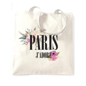 Paris J'Adore Tote Bag