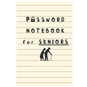 Password NoteBook for Seniors