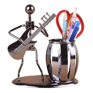Decorative Guitar Desktop Organizer