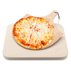 Grill Pizza Stone Set For Oven or BBQ
