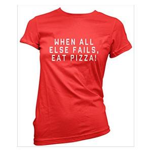 Novelty Pizza T Shirt