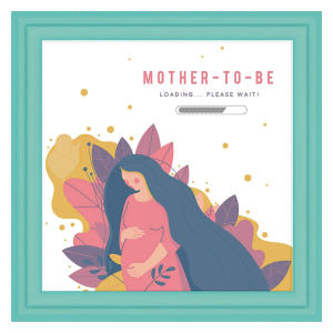 Tile Artwork for Expecting Moms
