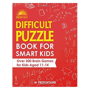 Difficult Puzzle Book for Smart Kids