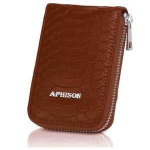Leather Credit Card Holder Case