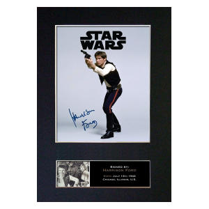 Harrison Ford Signed Print