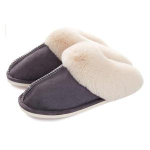 Memory Foam Fluffy Slippers