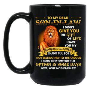Son in Law Funny Mug