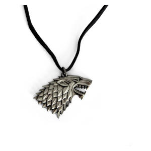 House Stark Crest Shadowwolf Chain