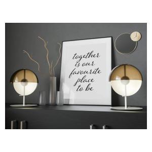 Inspirational Together Art Print
