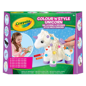 Crayola Colour N Style Unicorn Craft Kit