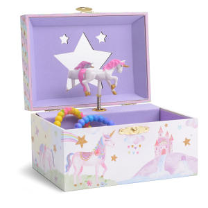Jewellery Box with Spinning Unicorn