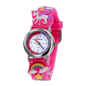 3D Pink Unicorn Watch