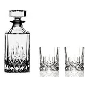 Italian Crystal Whisky Drinkware Set