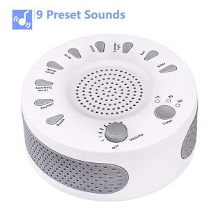 White Noise Machine Sleep Helper