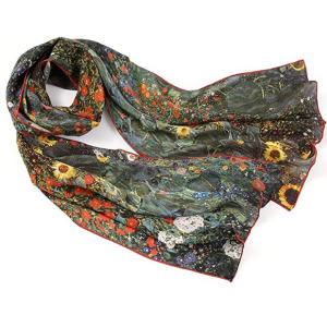 Women's Scarf Gustav Klimt Print