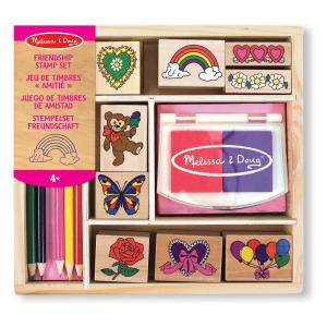 Wooden Stamp Set: Friendship