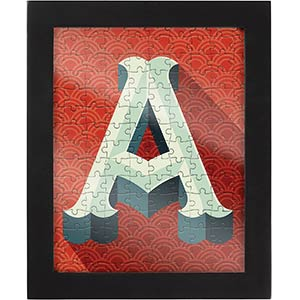 Alphabet Collection Jigsaw Puzzle