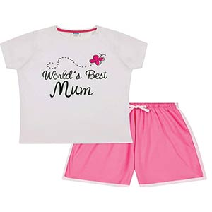 World's Best Mum Pyjamas