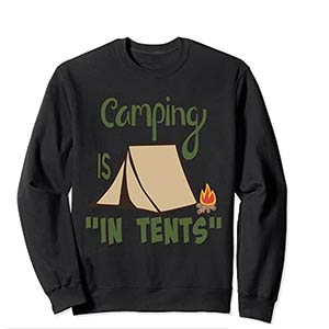 Funny Camping Long Sleeve T Shirt