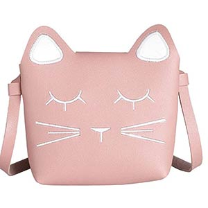 Girls' Cat Shoulder Bag