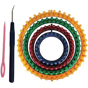 Circular Knitting Looms Set